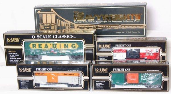 7: K-Line TCA 2000 Fairlane Observation 4 Boxcars