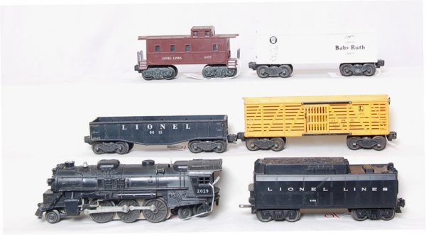 10: Lionel 2029, 234W, 6012, X6014, 6656 and 6037 - 2