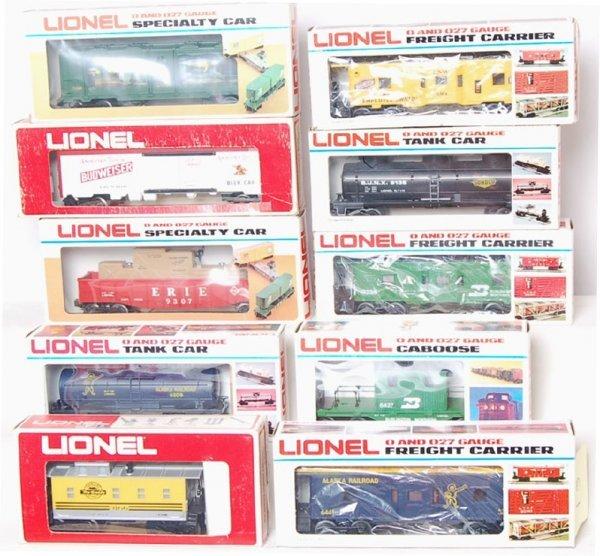 13: Lot of 10 Lionel 9850 6308 9138 9307 9308