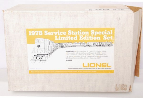 19: Lionel 1868 Set 1978 8866 92139408 9726 9138 9271