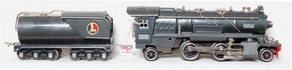 24: Lionel prewar 255E steam loco with tender