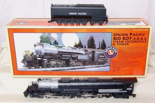 492: Lionel 28029 UP Big Boy Steam Engine/Tender