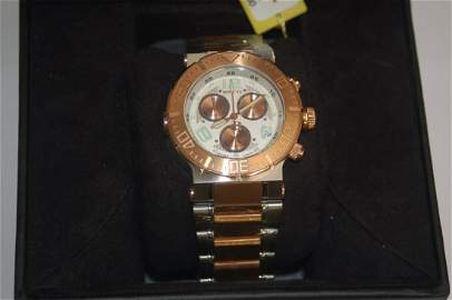 NEW 1300 DOLLAR ROSE GOLD INVICTA WATCH
