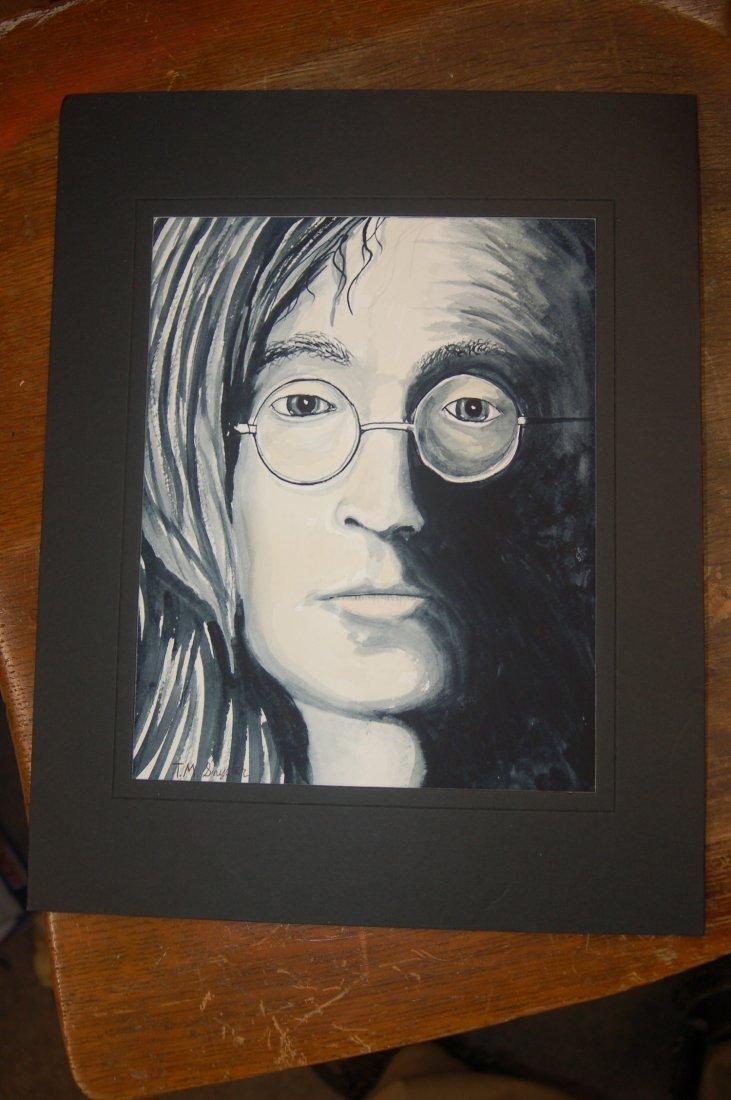 ORIGINAL ART SIGNED BY ARTIST
