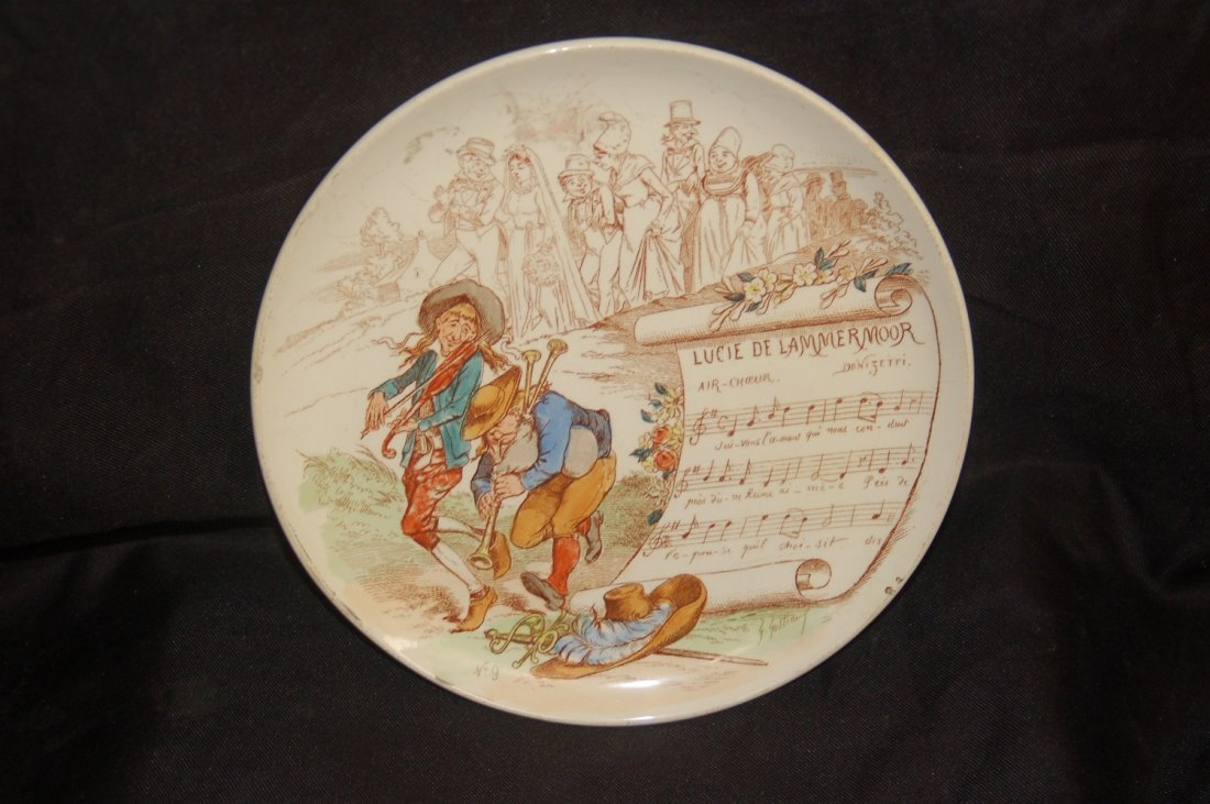 ANTIQUE FRENCH PLATE HIGHLY COLLECTIBLE