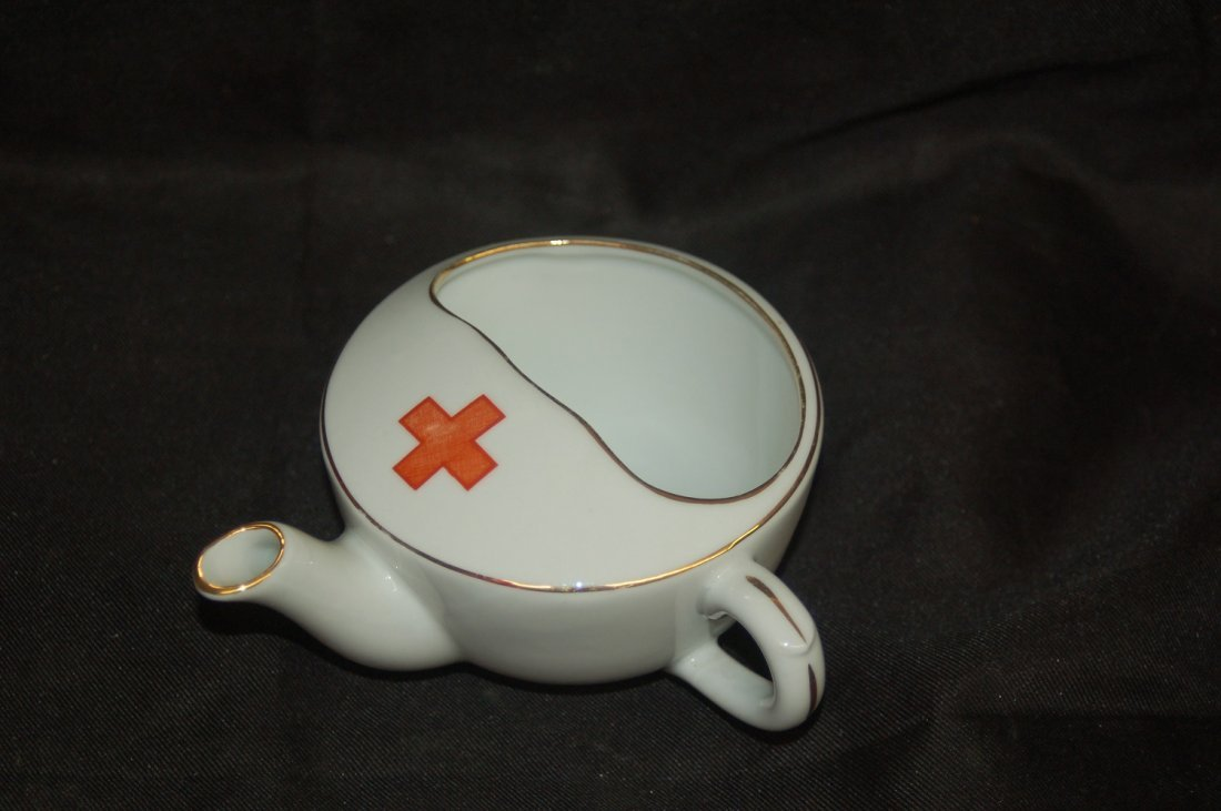 RARE RED CROSS WWII FEEDER FOR INFIRM PATIENTS