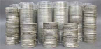 787 Washington Silver Quarters