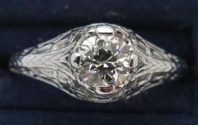 Art Deco Period Diamond Ring