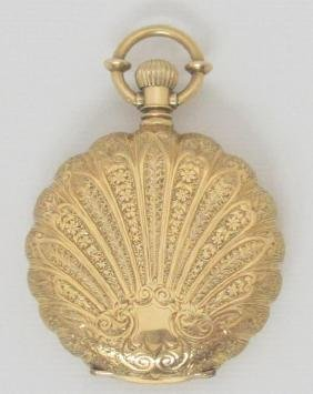 18k Yellow Gold Elgin Pocket Watch