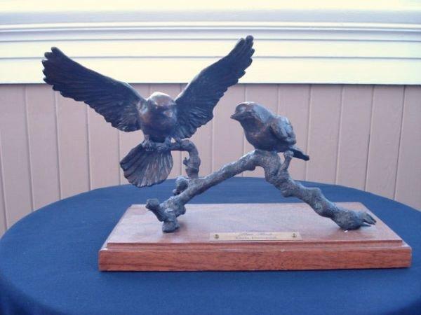 7: Bronze Sculpture by Karla Rundquist