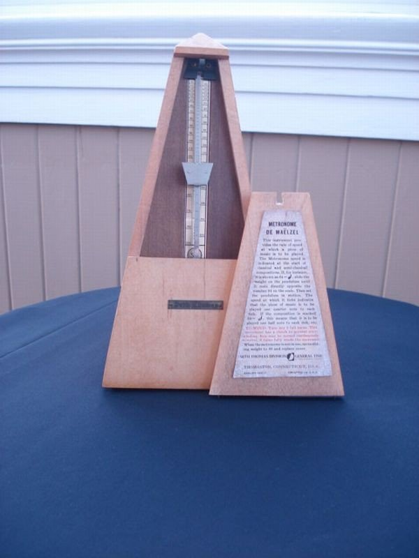 17: Wooden Metronome by Seth Thomas