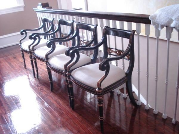 Four Arm Chairs by Maitland-Smith