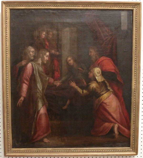 17: Oil on Canvas Ca 1600 Tuscan School