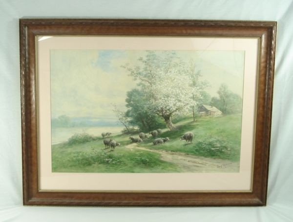 23: Watercolor by Carl Weber