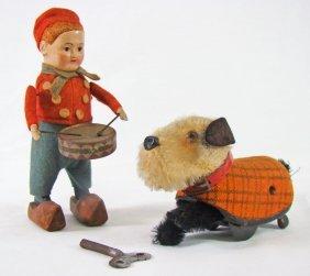 1009: 2 Schuco Wind-up Toys