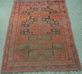1015: Semi-antique with Reds, Browns, Blues