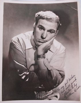 Autographed 8x10 William Bendix