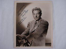 Autographed 8x10 Danny Kaye