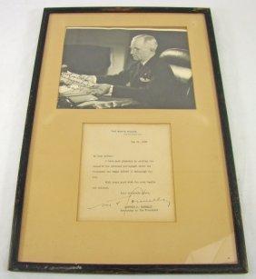 Signed Portrait Harry S. Truman