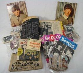 Assorted Group Of Beatles Memorabilia