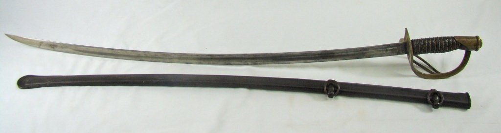 1063: Saber Model 1860 Light Cavalry, C. 1864