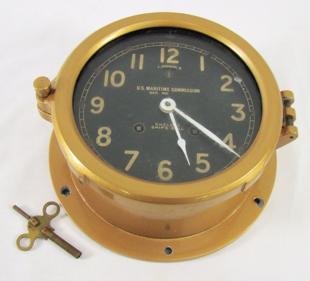 1071: Chelsea Ship's Clock/Bell with keys
