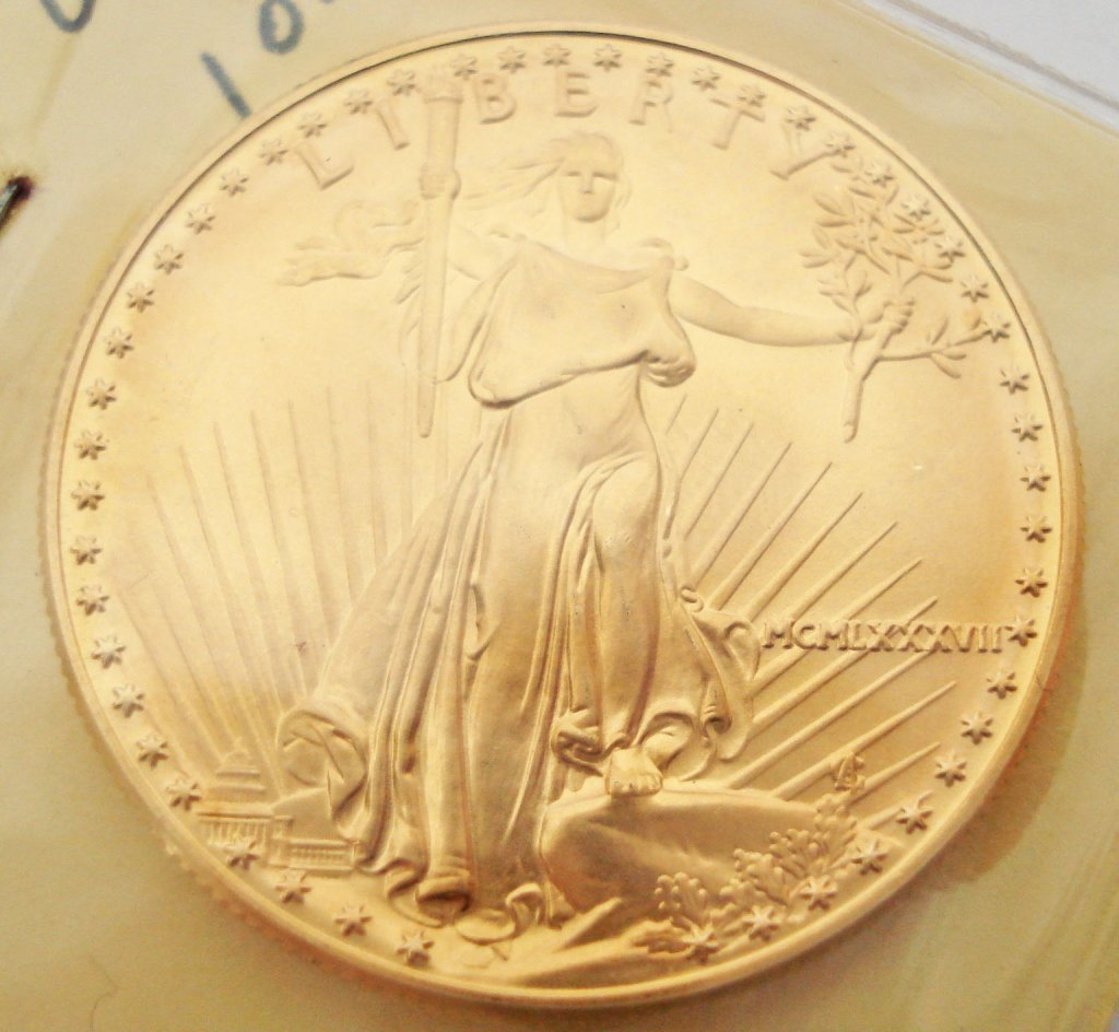 1091: American Eagle Gold Coin, 1987