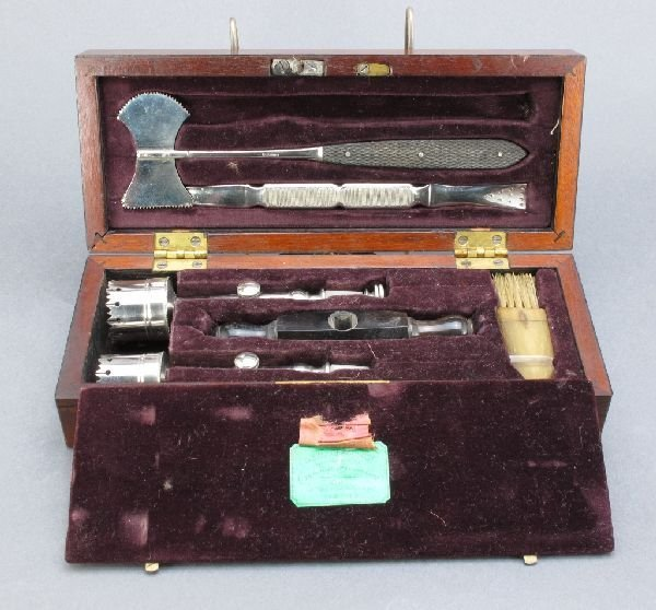7: Civil War Trepanning Trephine Set