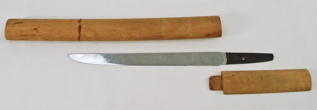 8: Japanese Samurai Tanto Dagger with Shirasaya