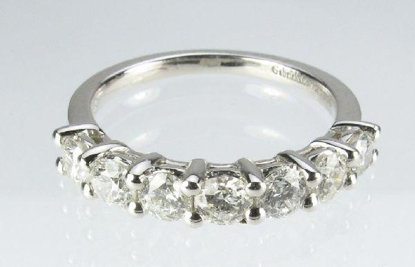 100: 1 Ct. Diamond Anniversary Ring by Gabriel & Co.