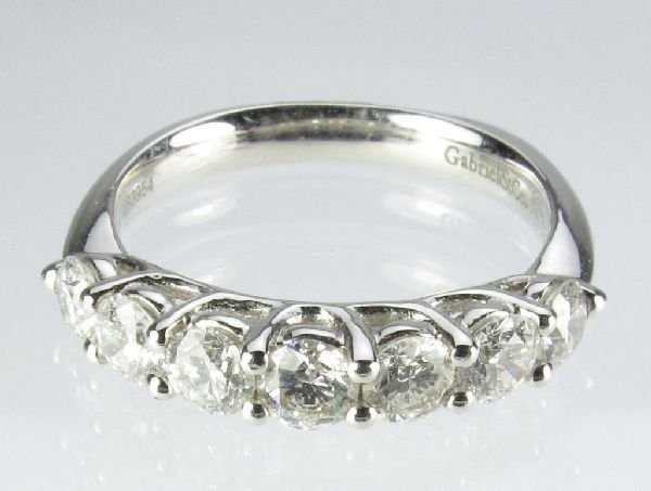 107: 1 Ct. Diamond Anniversary Ring by Gabriel & Co.