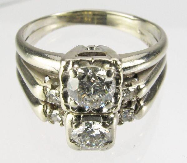 111: Diamond Ring 14K White Gold