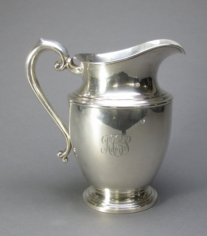 5: Sterling Silver Pitcher