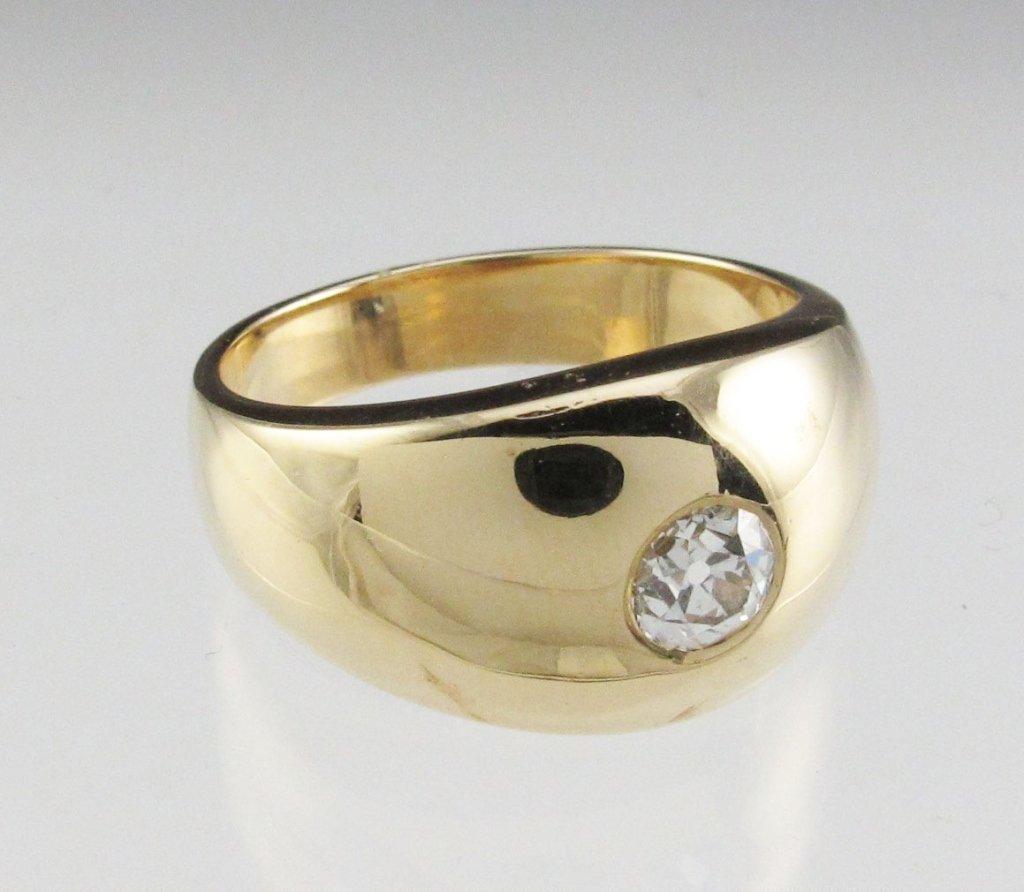 Gent's 1/2 Ct Diamond Ring 14K