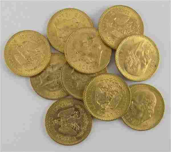 10 Peso Coins