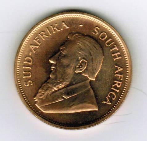 1979 Krugerrand 1 Oz Fine Gold Coin