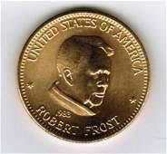 1983 American Arts Commemorative 1 oz Gold Coin