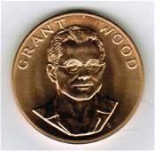 One 1980 American Arts Commemorative 1 oz Gold