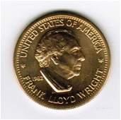 1982 American Arts Commemorative 1/2 oz Gold Coin