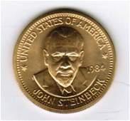 One 1984 American Arts Commemorative 1/2 oz Gold