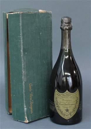 1973 Vintage Cuvee Dom Perignon Champagne