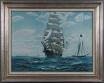 Charles Robert Patterson O/C Clipper Ship