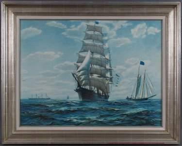 Charles Robert Patterson O/C Clipper Ship