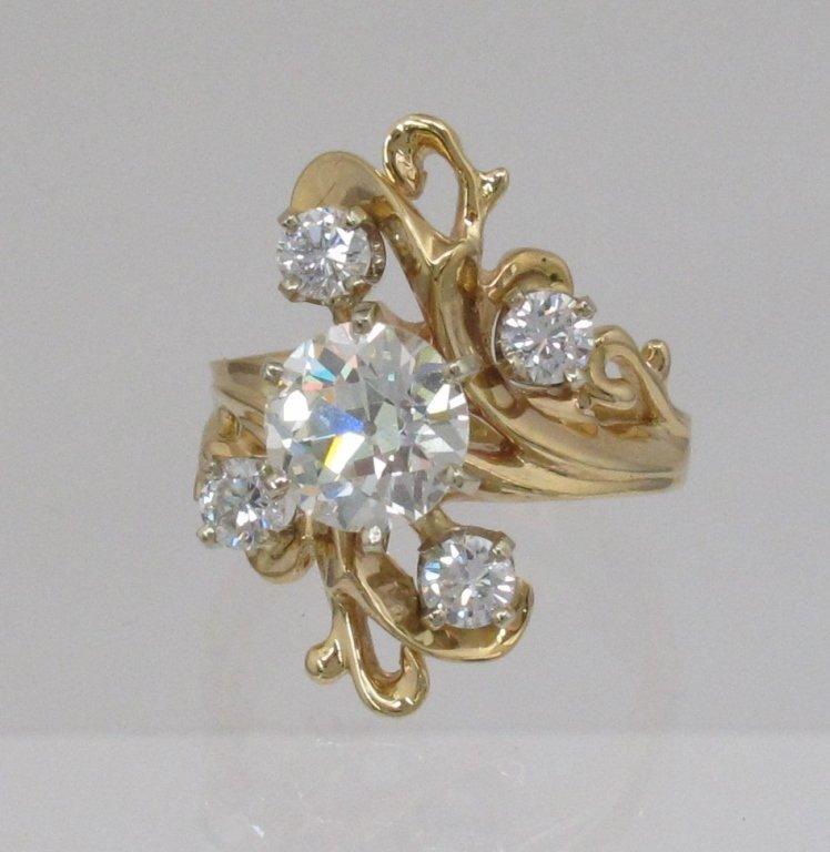 3.22 Ct. Lady's Diamond Ring