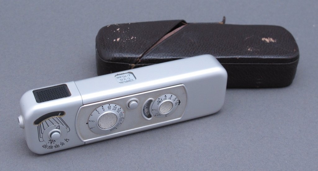 Minox B Subminiature Spy Camera, Germany, 1968