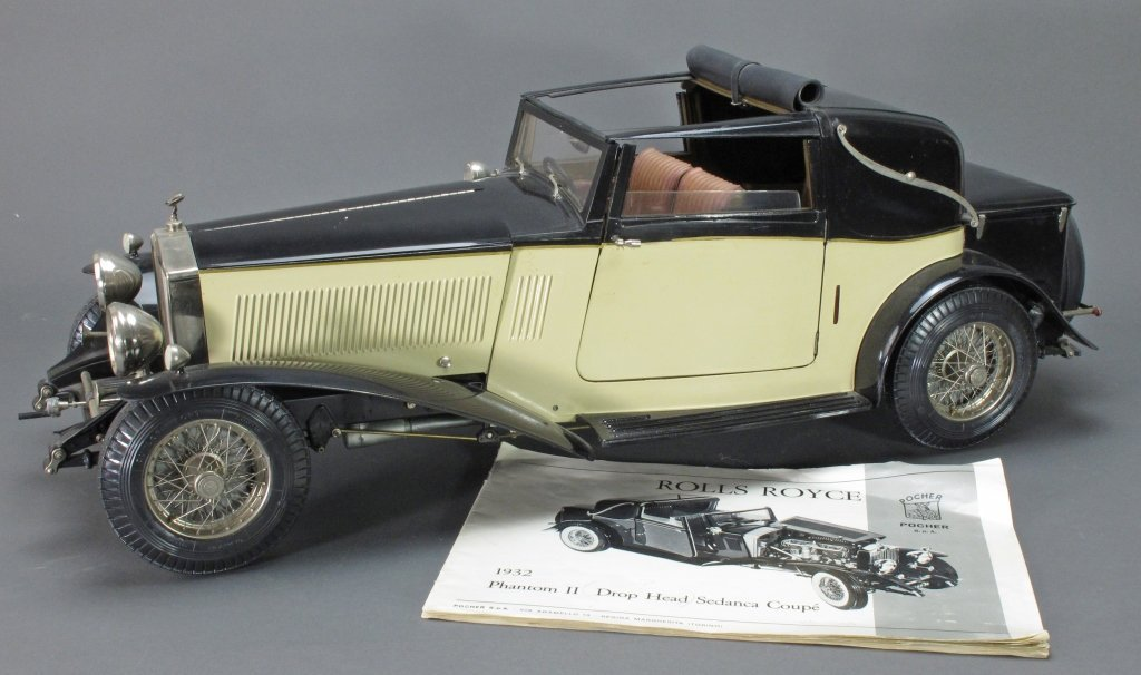 Rolls Royce 1:8 1932 Sedanca Coupé Phantom II