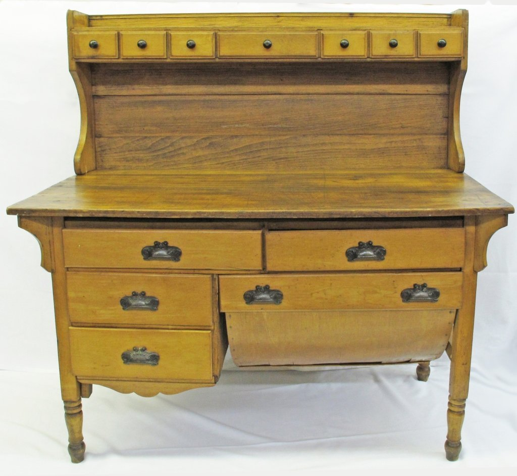 Mid-1800's Shenandoah Valley Possum Belly Cabinet