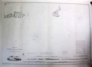 57 U.S. Coastal Survey Print Long Island
