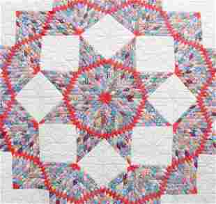 3 - Quilts, Hand Quilted, Early 20th C