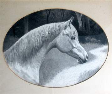 Joye by George Ford Morris Work On Paper Equine